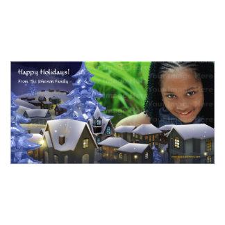 A Winter Wonderland Photo Card