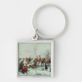 A Winter's Day in St. James's Park Keychain