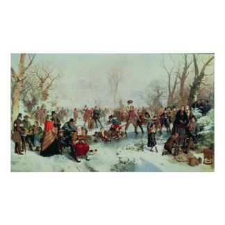 A Winter's Day in St. James's Park Poster