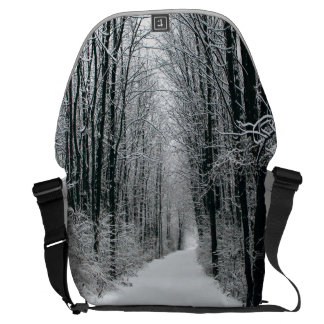 A Winters Path Courier Bag
