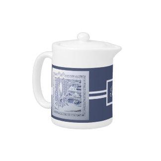 A Winter's Snow Teapot