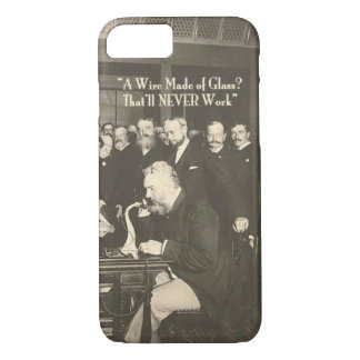 A Wire Made of Glass Humorous Tech iPhone 7 Case