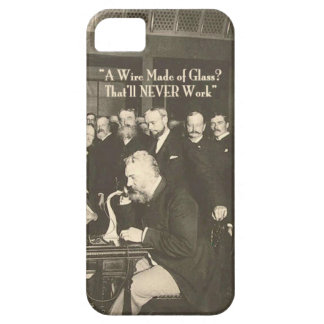 A Wire Made of Glass Humorous Tech iPhone SE/5/5s Case