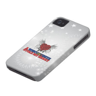 A Wisconsinite Stole my Heart iPhone 4 Case-Mate Case