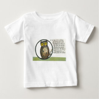 a wise old owl baby T-Shirt
