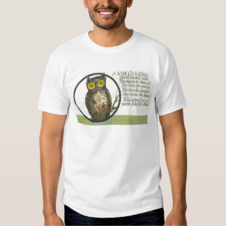 a wise old owl shirt