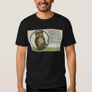 a wise old owl tees