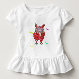 A wise owl baby shirt
