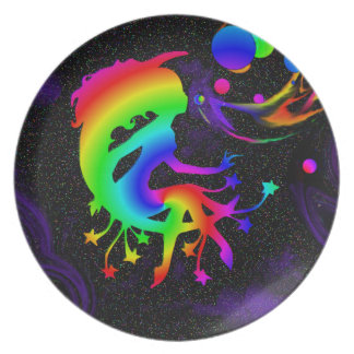 A Wish Upon Bubbles by Jolly Rastafari Plate