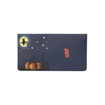 Halloween Themed A Witch Amongst the Stars Checkbook Cover