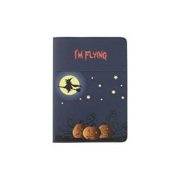 Halloween Themed A Witch Amongst the Stars Passport Holder