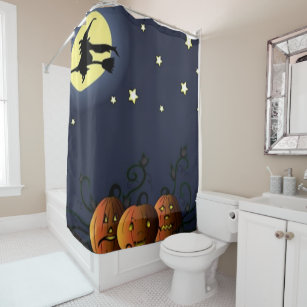 A Witch Amongst The Stars Shower Curtain