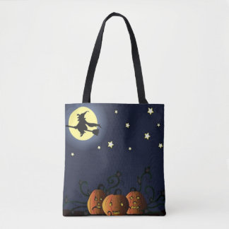 A Witch Amongst the Stars Tote Bag