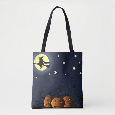 Halloween Themed A Witch Amongst the Stars Tote Bag