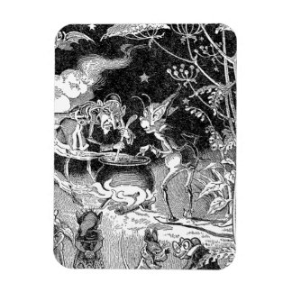 A Witch Brews for Forest Friends Rectangular Photo Magnet