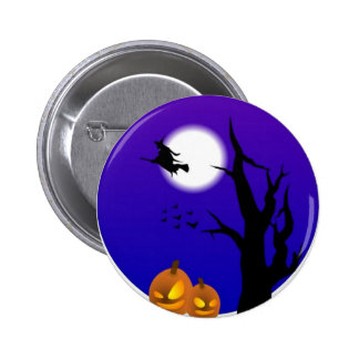 A Witches Moon Pinback Button