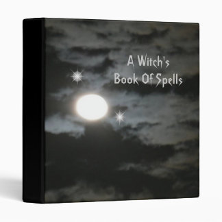A Witch's Book Of Spells Binder