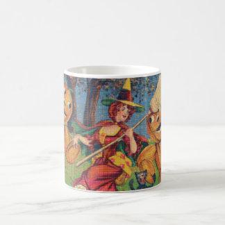 A Witch's Dance Cross Stitch Mug
