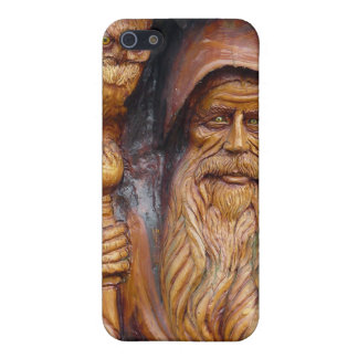A Wizard and Owl Emerge From Cavern Case For iPhone SE/5/5s