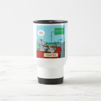 A Wolf From Virginia Funny Coffee Mug
