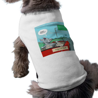 A Wolf From Virginia Funny Dog Tee