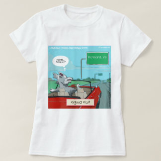A Wolf From Virginia Funny T-Shirt