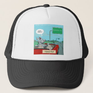 A Wolf From Virginia Funny Trucker Hat
