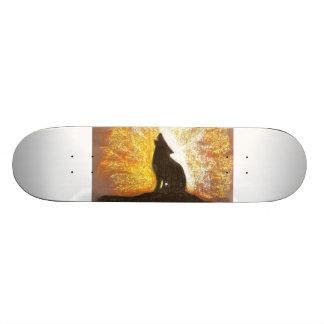 a wolfs forgotton song skateboard