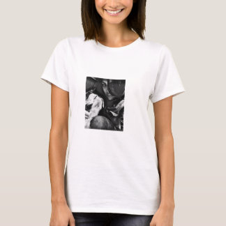 A woman and her best friend! T-Shirt