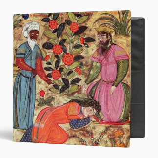 A Woman Beseeching the Sultan 3 Ring Binder