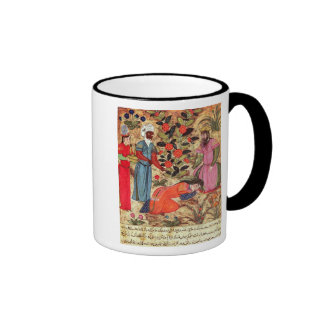 A Woman Beseeching the Sultan Ringer Coffee Mug