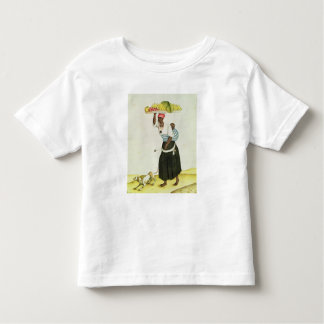 A Woman Carrying a Tray of Fruit on her Head Toddler T-shirt