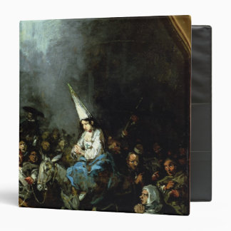 A Woman Damned by The Inquisition 3 Ring Binder