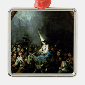 A Woman Damned by The Inquisition Metal Ornament