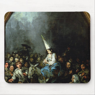 A Woman Damned by The Inquisition Mouse Pad