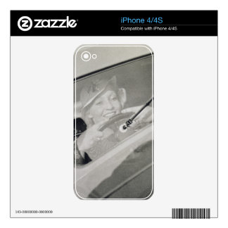 A woman driving, c.1930s (photogravure) decals for the iPhone 4S