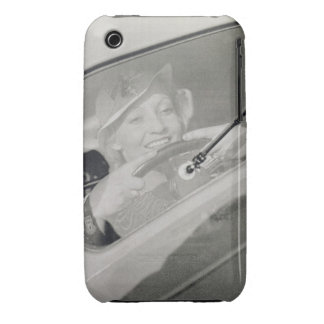 A woman driving, c.1930s (photogravure) iPhone 3 covers
