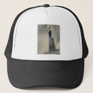 A Woman Fishing (conte crayon) Trucker Hat