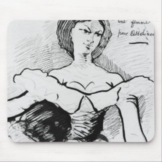 A Woman for Asselineau Mouse Pad