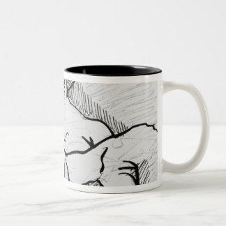 A Woman for Asselineau Two-Tone Coffee Mug