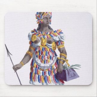 A Woman from Honduras, 1780 (coloured engraving) Mouse Pad
