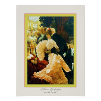 A Woman Of Ambition ~ James Tissot ~ Fine Art Poster