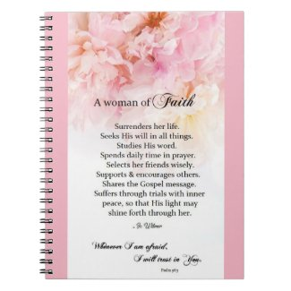 A Woman of Faith journal
