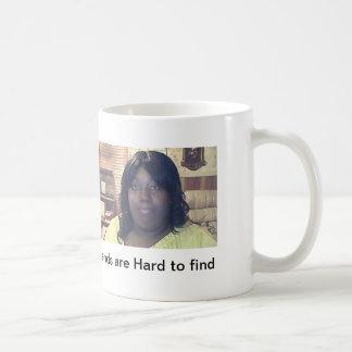 A woman on the job classic white coffee mug