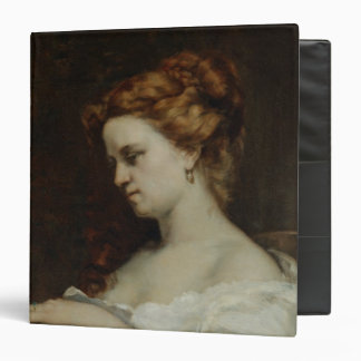 A Woman with Jewellery, 1867 3 Ring Binder