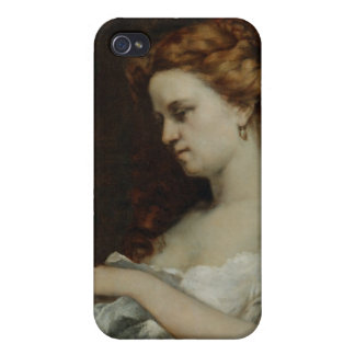 A Woman with Jewellery, 1867 Case For iPhone 4