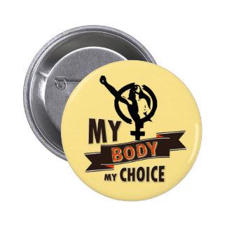 A Woman's Choice Button