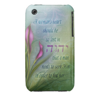 A Womans Heart - Calla Lily Case-Mate iPhone 3 Case