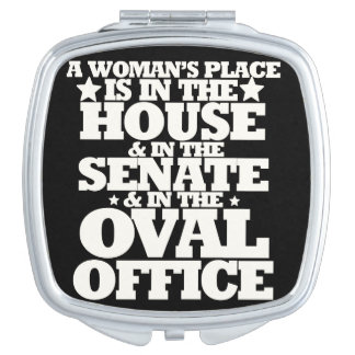 A womans place in politics mirrors for makeup