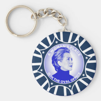A WOMANS PLACE IS IN THE OVAL OFFICE KEYCHAIN